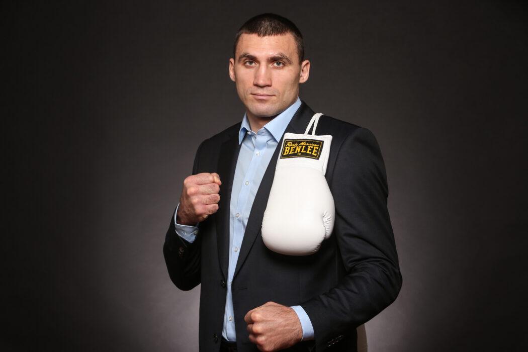 <h5>BOXEN: EC Boxing, Winsen, 17.01.2020 Victor Vykhrist (UKR) © Torsten Helmke</h5>