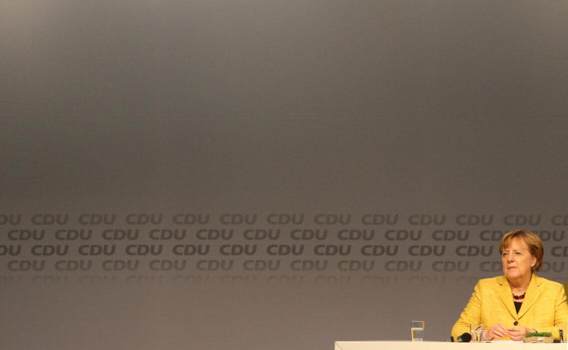 <h5>Politik: Landtagswahlen Niedersachsen, Wahlkampf, Seevetal, 12.10.2017Bundeskanzlerin Angela Merkel bei einer CDU Wahlkampfveranstaltung© Torsten Helmke</h5>