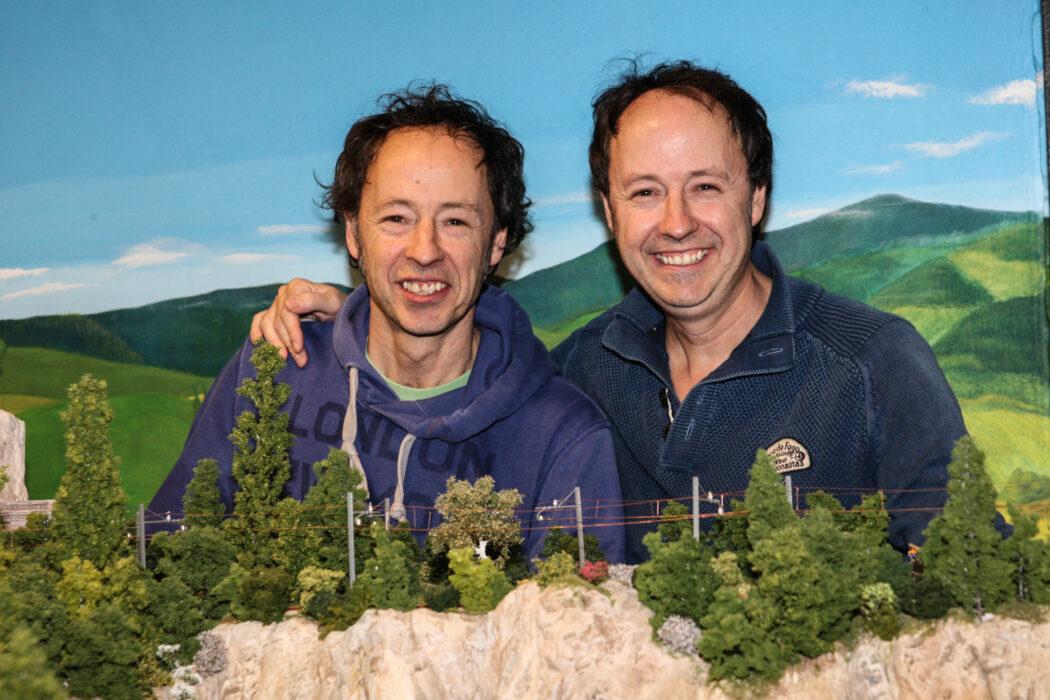 <h5>Miniatur Wunderland, MiWu, Hamburg, 23.02.2017 Gründer und Inhaber: Die Brüder Gerrit (l.) und Frederik Braun © Torsten Helmke</h5>